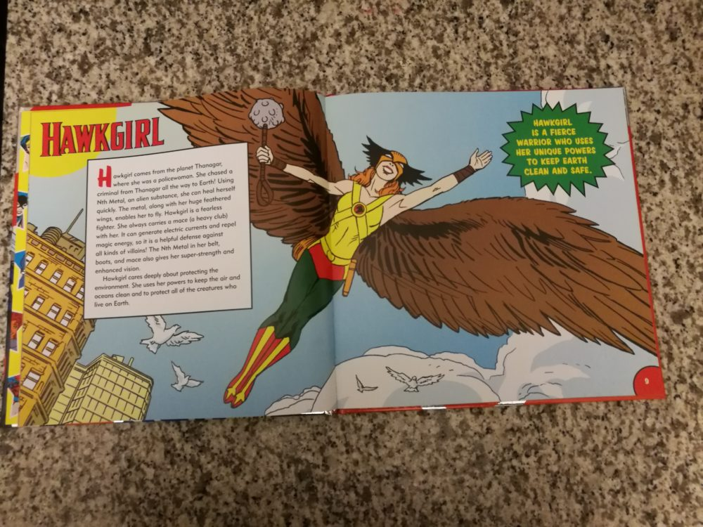 There's the Hawkgirl I know.