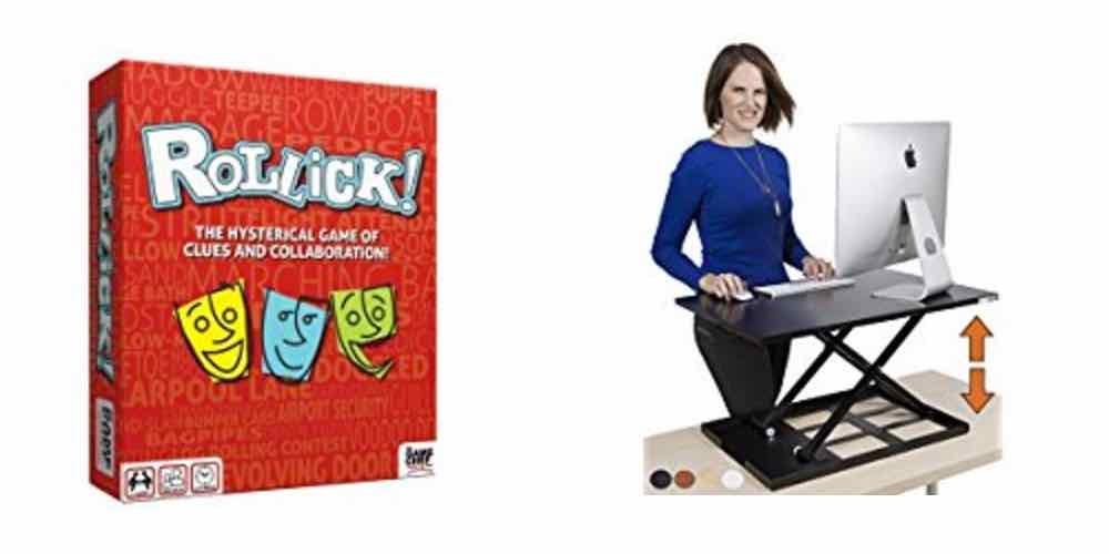 Daily Deals: Save on a Team Charades Game or a Standing Desk!
