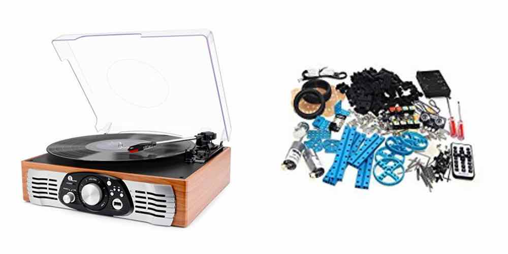Save Big on Turntable That Rips to MP3s, Get the Makeblock DIY Robot Starter Kit – Daily Deals!