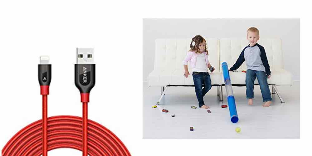 Save Big on a 10′ Lightning Cable, Get a Tube for Your Kids to Play With – Daily Deals!
