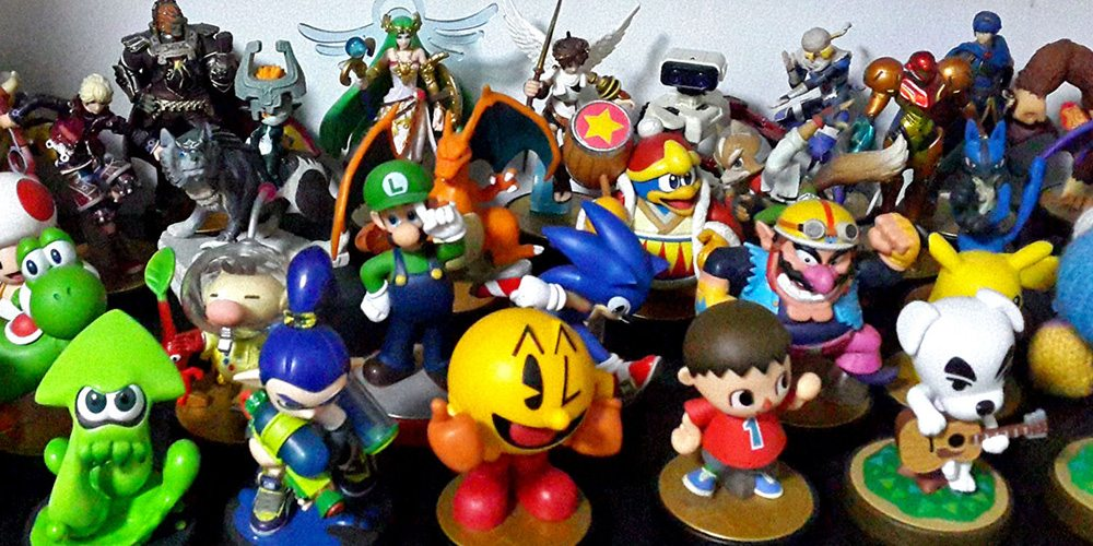 Tiny and tempting Amiibos. Photo courtesy of Flickr user dcmaster.