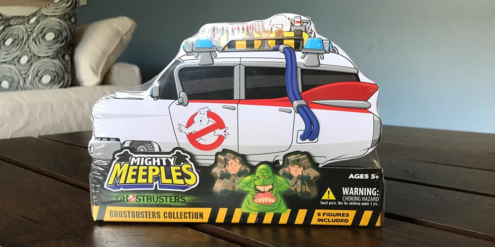 Cryptozpoic's 'Ghostbusters' Mighty Meeples Ain't Afraid of No Woodchipper