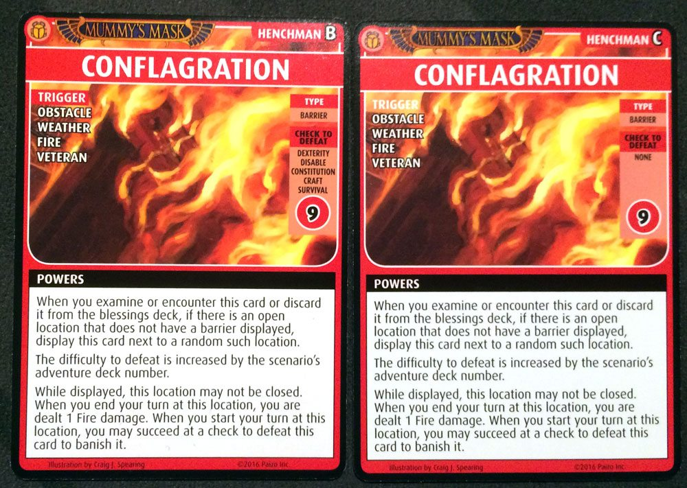 PACG Mummy's Mask Conflagration