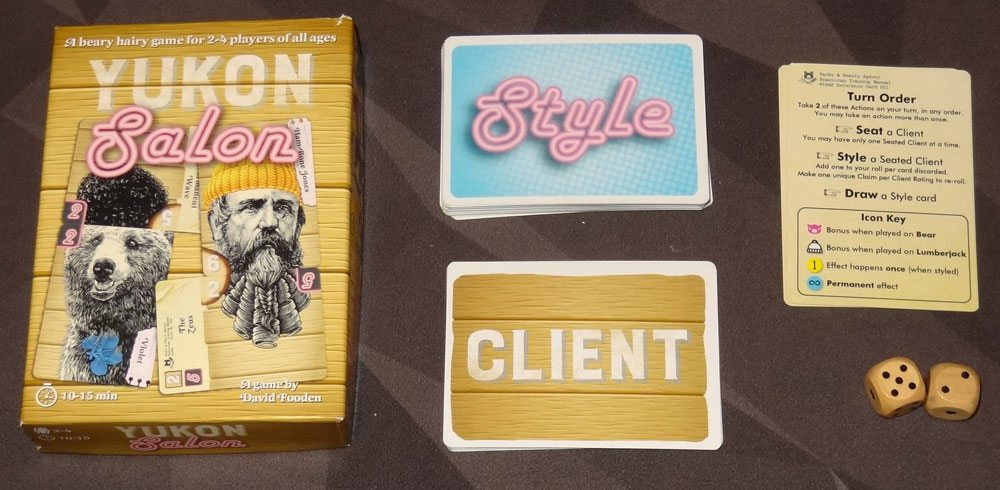 Yukon Salon components