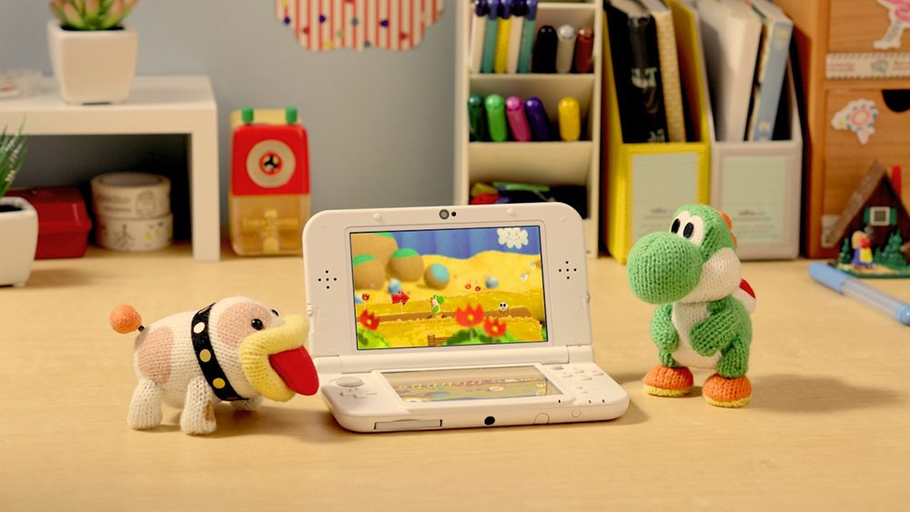 Return to 'Yoshi's Wooly World' (Now With Poochy)