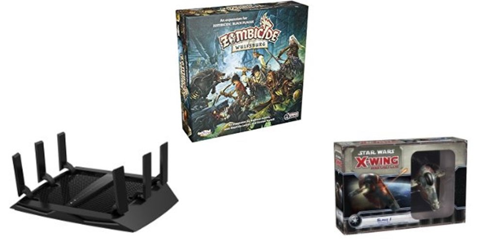 Save Big on the Netgear Nighthawk Router, Get 'Zombicide' and 'X-Wing' Boardgame Expansion Sets – Daily Deals