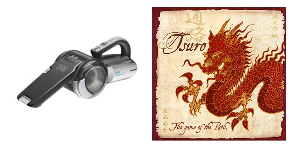 Save Big a 20V Black+Decker Pivot Vac, Get the Awesome 'Tsuro' Boardgame for $20 – Daily Deals