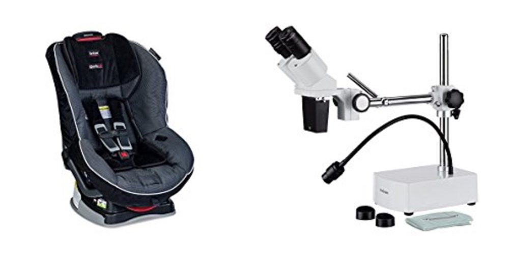 Save Big on Infant Car Seats, Get a Serious Stereo Microscope for Detailed Crafts – Daily Deals!