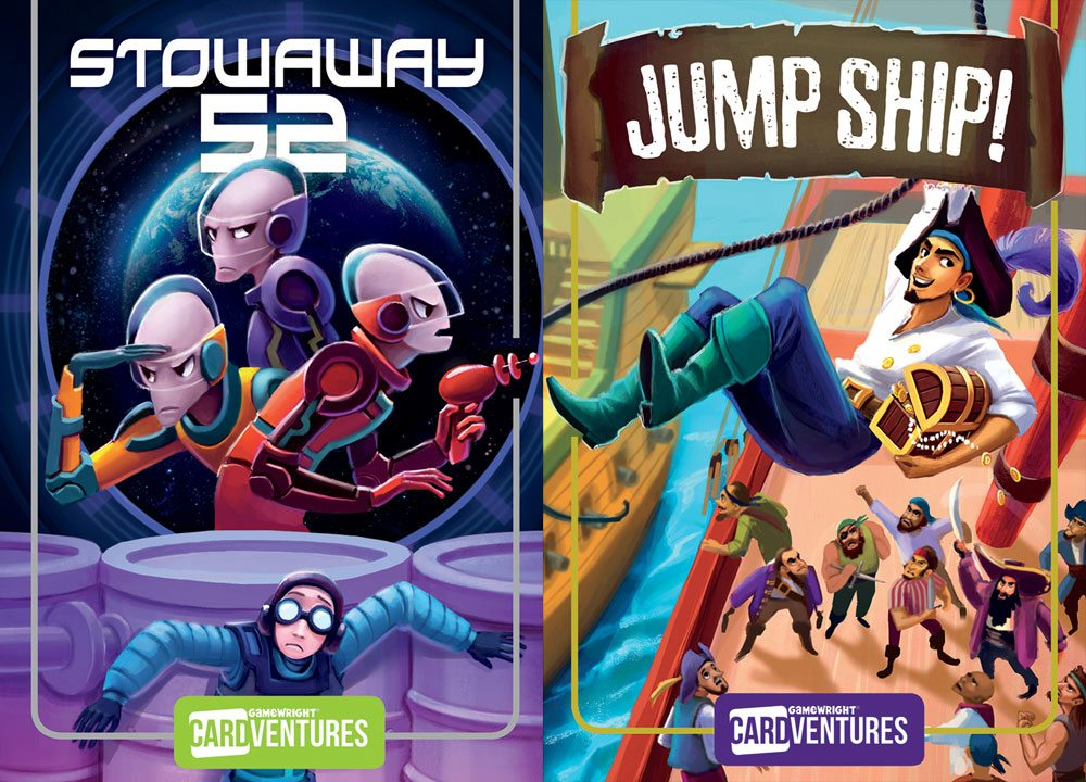 Cardventures: Stowaway 52 and Jump Ship
