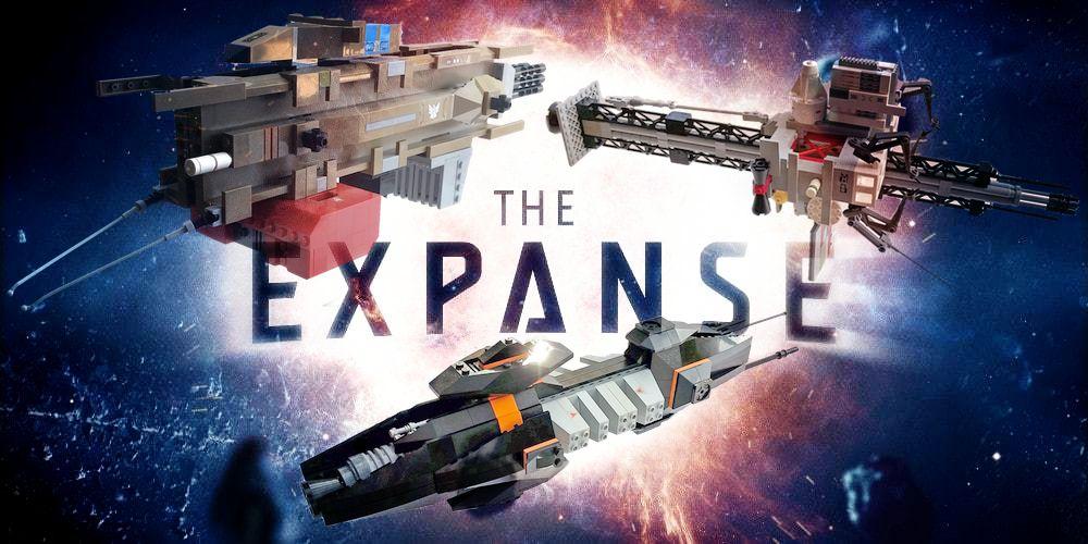 The Expanse Lego Ships