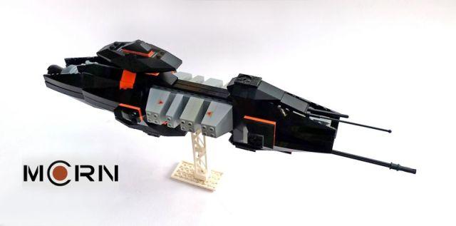 MCRN Destroyer Gazsardt in Lego