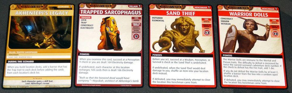 PACG Mummy's Mask: Akhentepi's Legacy