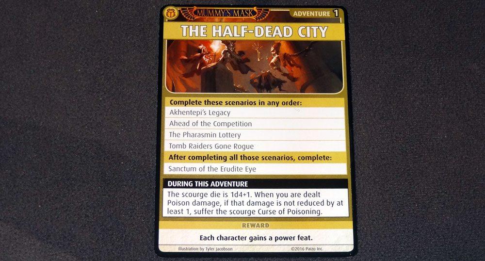 PACG Mummy's Mask Half-Dead City