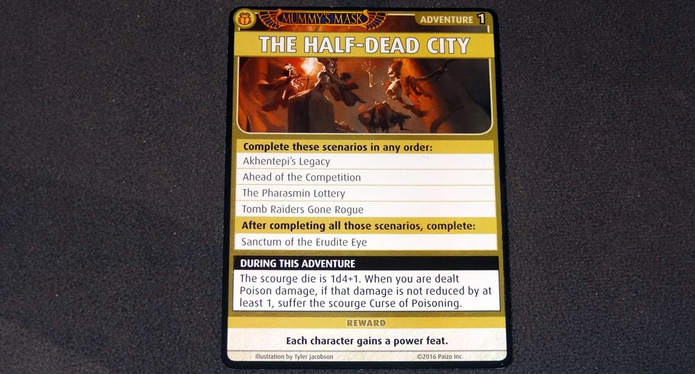 PACG Mummy's Mask Half-Dead City