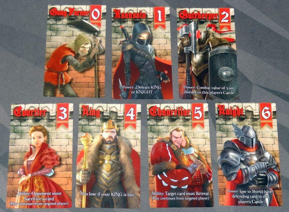 Siege cards