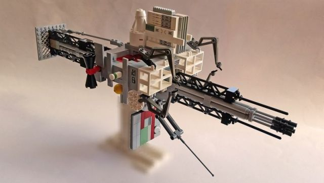 Small Gas Miner Immaculata in Lego