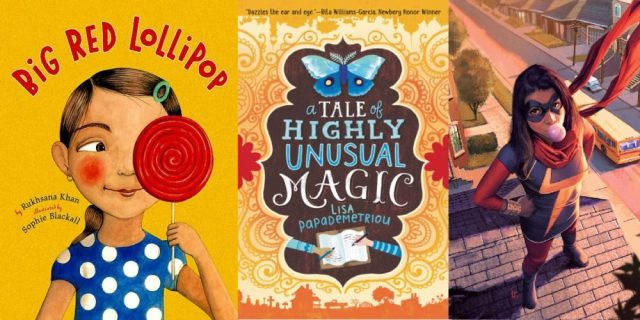 Three books for Countering Islamophobia Through Stories