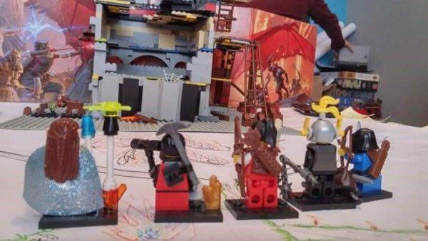 D&D LEGO cultist camp