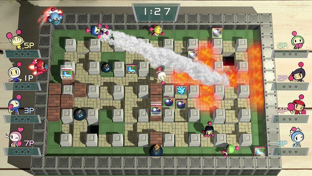 8 player super bomberman r