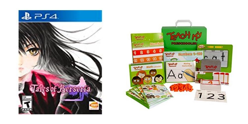 Get PS4 Game 'Tales of Berseria' for $20 Off, Save on a Popular Pre-School Prep Kit – Daily Deals!