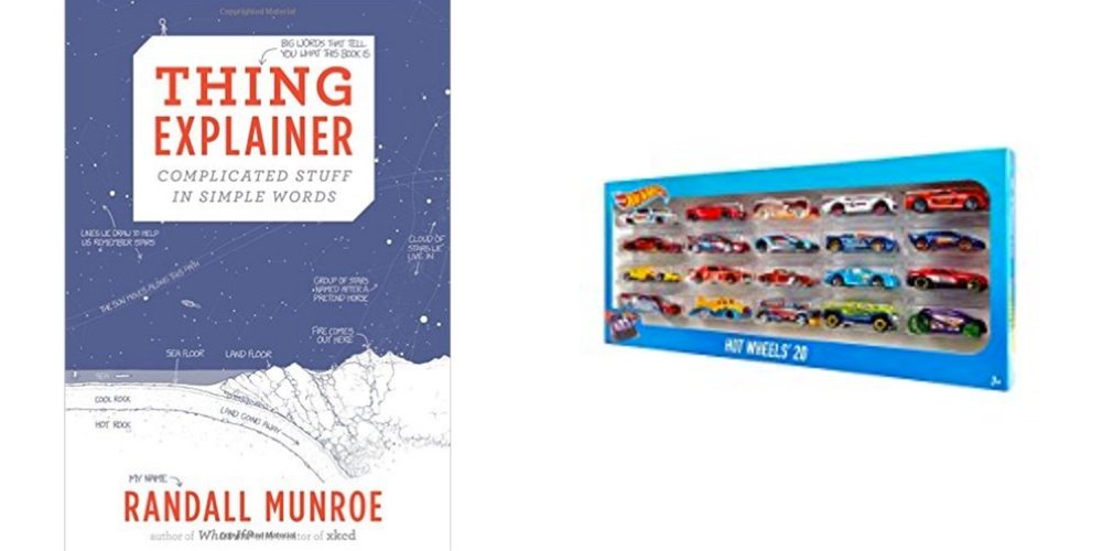 Save Big on XKCD's 'Thing Explainer' Book, Get 20 Hot Wheels Cars for $15 – Daily Deals!