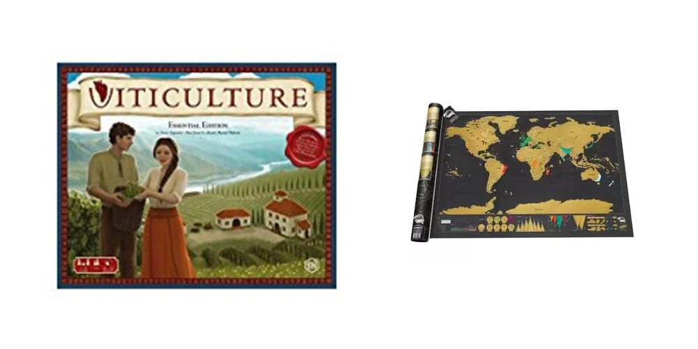 Save on GeekDad Tabletop Favorite 'Viticulture,' Record Your Travels on a Scratch Map – Daily Deals!