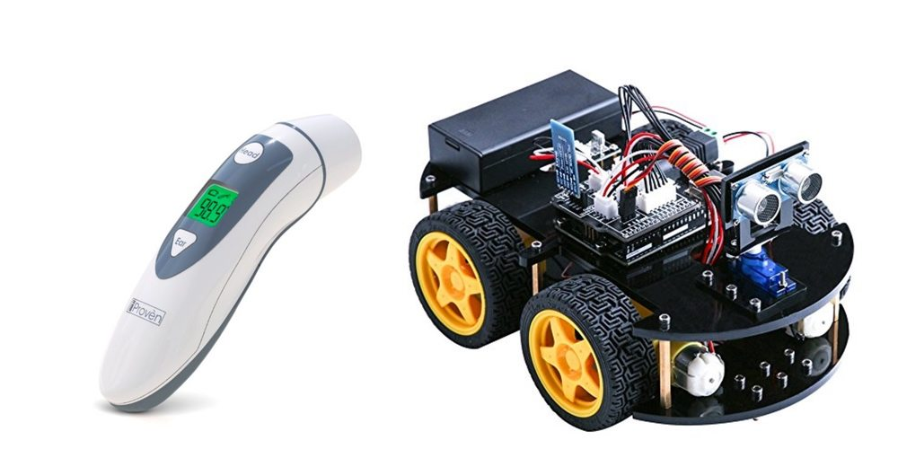 Save on an In-Ear Thermometer for Ease and Comfort, Get a Cool Robot Car Kit – Daily Deals!