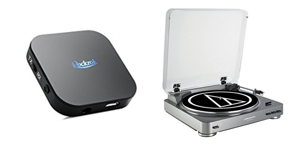 Get a Bluetooth Transmitter/Receiver and Get Your Phono Wireless – Daily Deals!