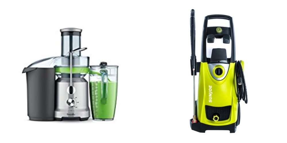 Save Big on a Breville Juicer; Start Your Spring Cleaning With a Pressure Washer – Daily Deals!