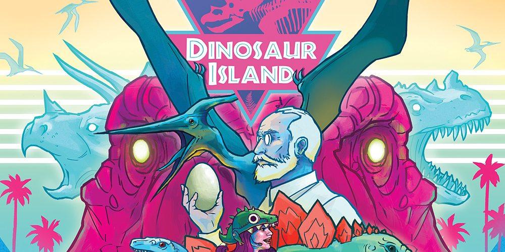 Kickstarter Tabletop Alert: 'Dinosaur Island'
