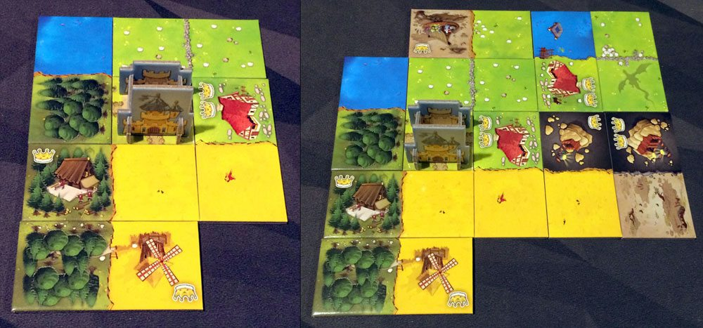 Kingdomino building