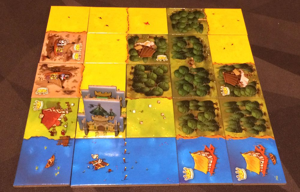 Kingdomino finished