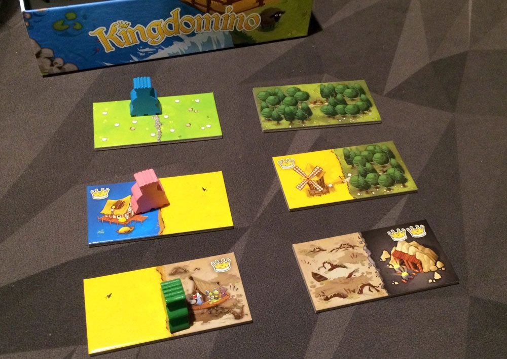 Kingdomino layout