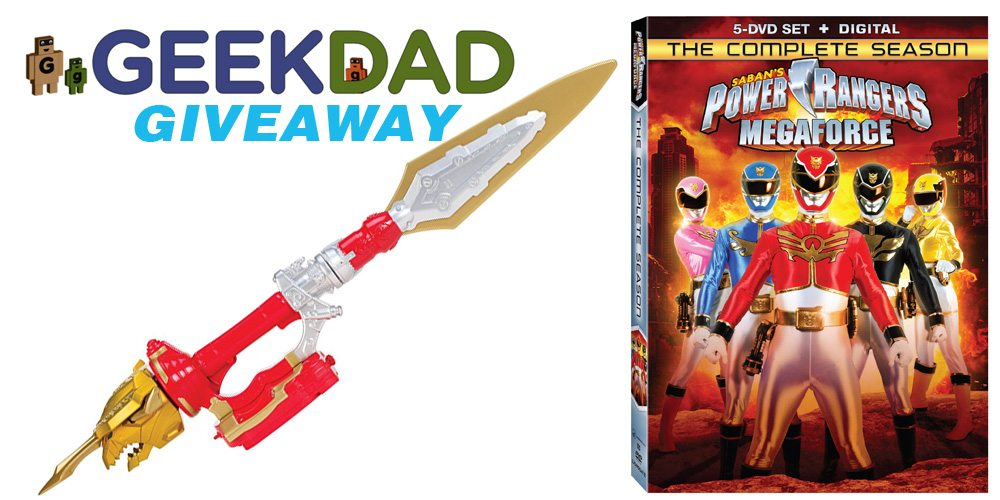 'Saban's Power Rangers Megaforce' DVD Giveaway