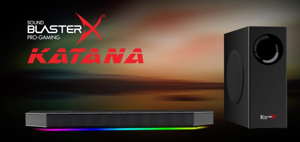 GeekDad Review: Sound BlasterX Katana Soundbar Rocks Your Gaming