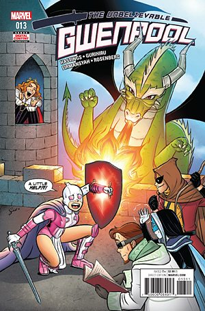 The Unbelievable Gwenpool #13, Image: Marvel