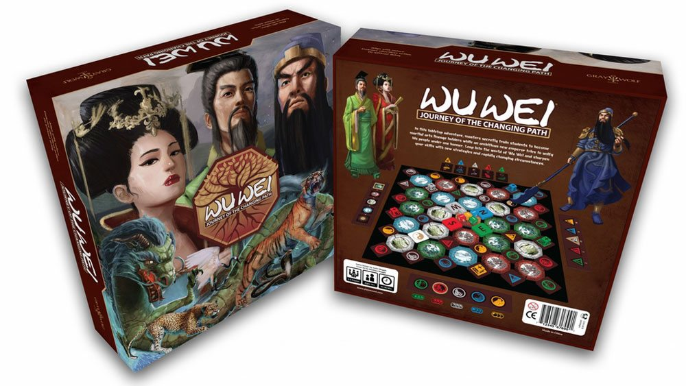 Kickstarter Tabletop Alert: 'Wu Wei: Journey of the Changing Path'