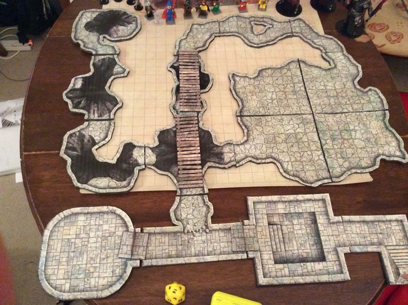 Dungeons & Dragons cave tiles