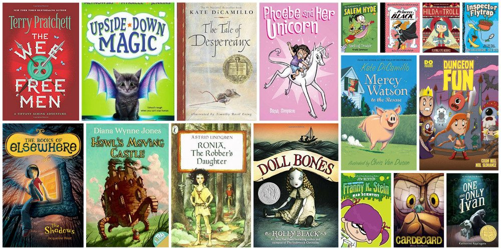 Some of our favorite read-alouds! Collage credit: Ariane Coffin