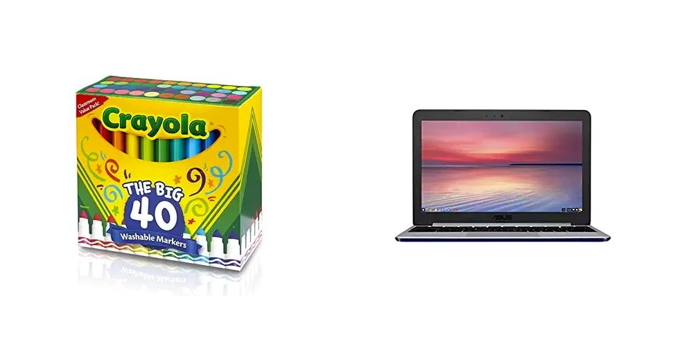Save Big on Coloring Supplies From Crayola, 10% off ASUS Chromebooks – Daily Deals!