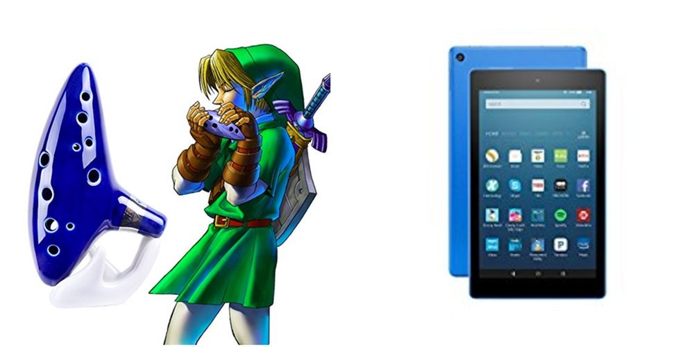 Save Big on Zelda's Ocarina, Get a Fire HD 8 Table for $70 – Daily Deals!