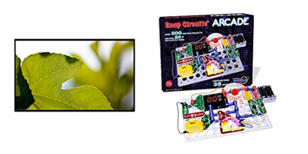 Get an Outdoor Movie Screen for $20; Snap Circuits Arcade Electronics Kit for $33 – Daily Deals!