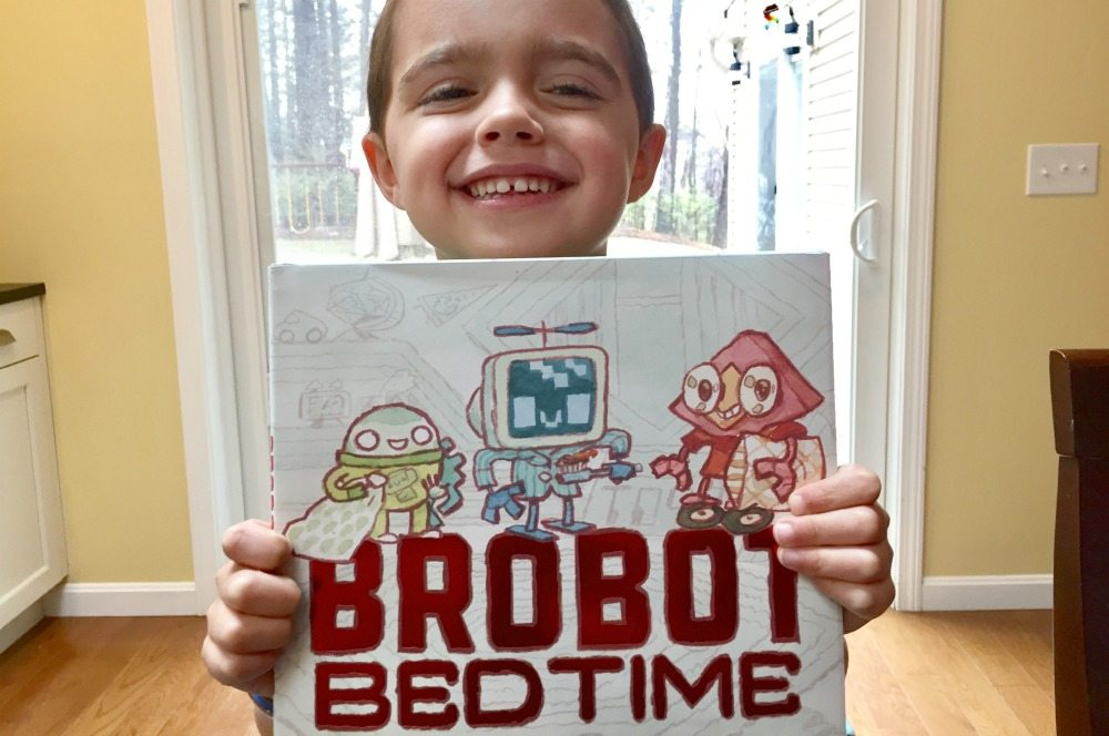 'Brobot Bedtime' Will Delight Little Robot Fans!