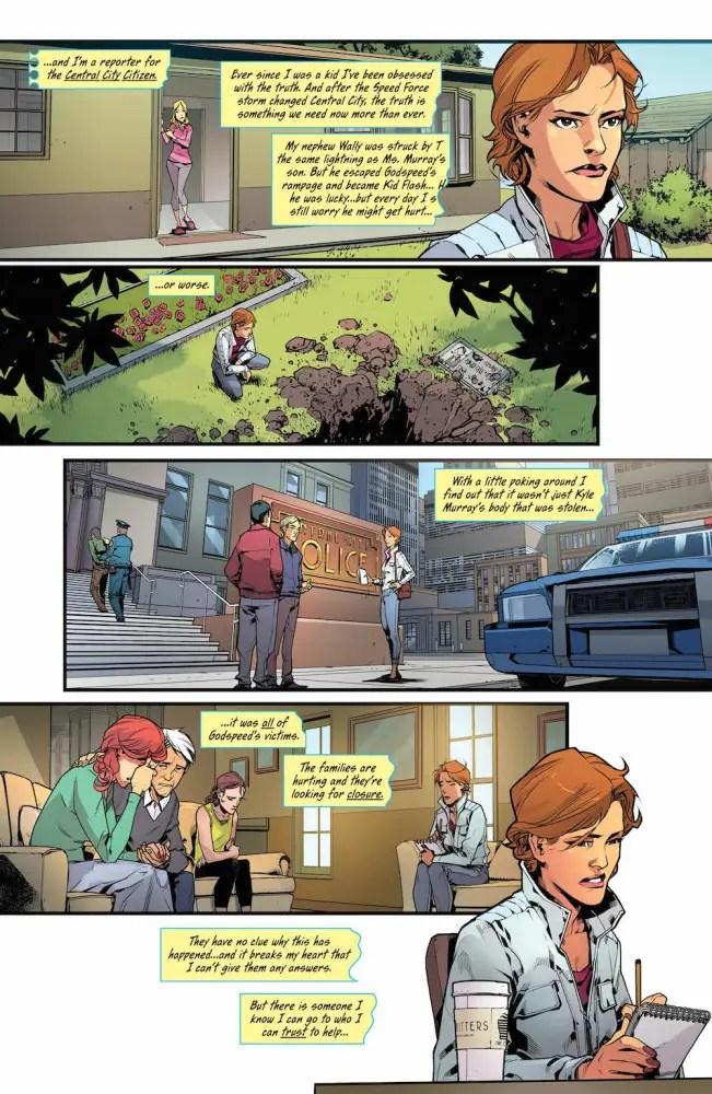 Iris West in Flash #20
