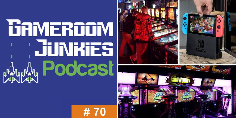 Gameroom Junkies Podcast #70 - Arcades on the Road
