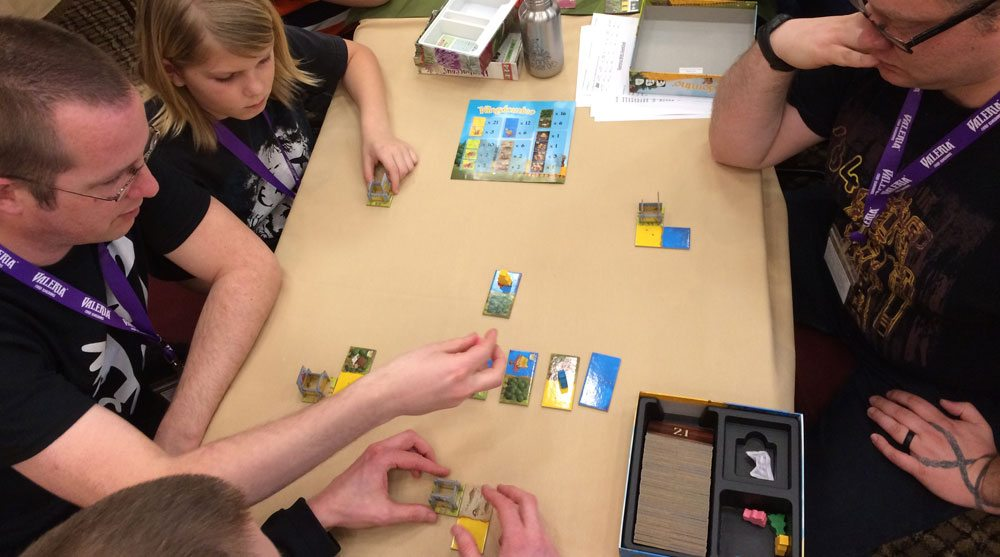 Kingdomino at GameStorm