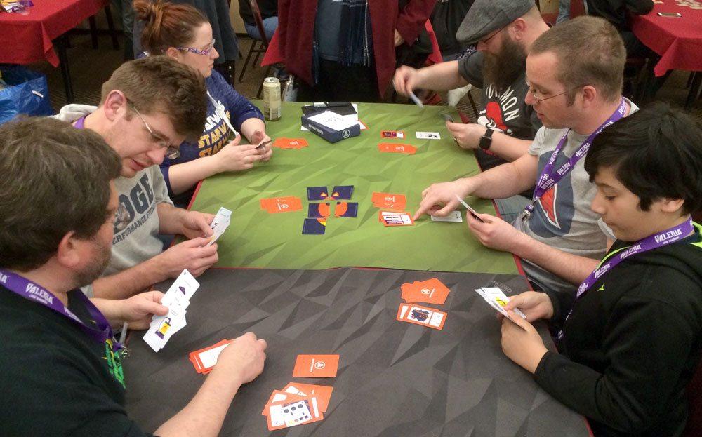 Spaceteam card game