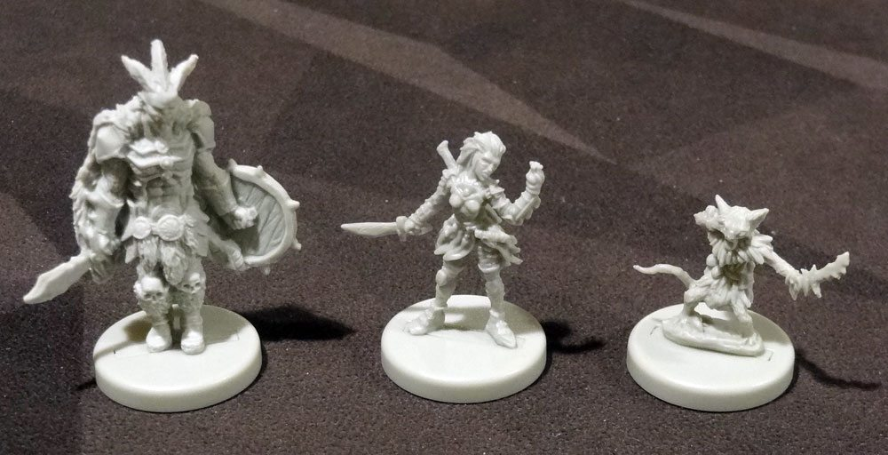 Gloomhaven miniatures
