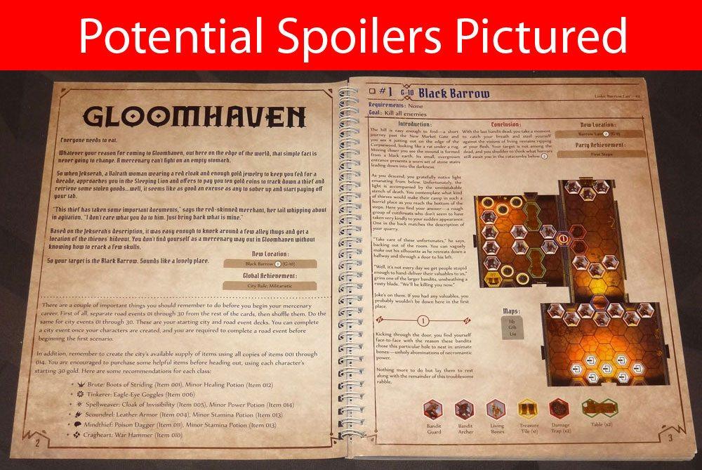 Gloomhaven scenario 1