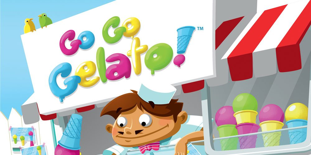 'Go Go Gelato!': Fast-Paced Dexterity Game